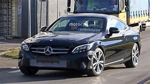 Mercedes Classe C Restylée 2018 : photos espion la mercedes classe c coup restyl e cache un autre secret ~ Maxctalentgroup.com Avis de Voitures