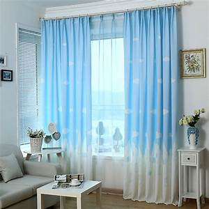 Bedroom Curtains Blue HOUSE DESIGN AND OFFICE : Attractive