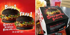 McD's Spicy Korean Burger SOLD OUT in Branch Just One Day ...