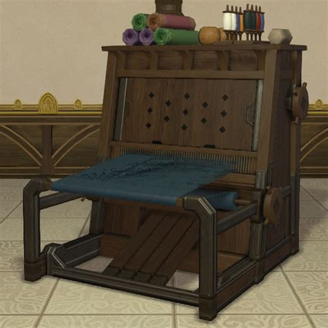 clothcraft loom ffxiv housing furnishing