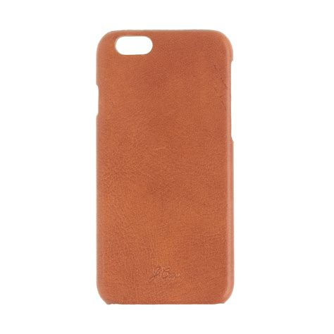iphone 6 leather cases j crew leather for iphone 6 6s in brown lyst