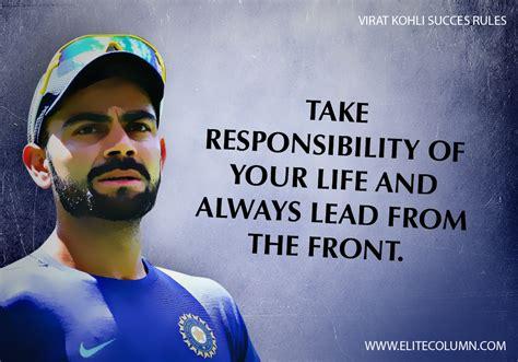 virat kohli success rules  inspire   work harder