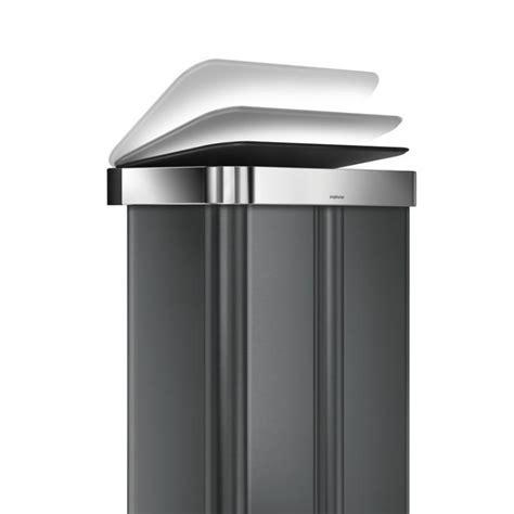 SimpleHuman CW2054 szelektív 58 literes pedálos szemetes