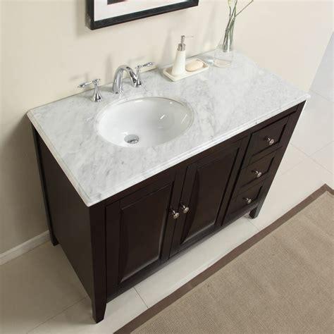 Bathroom Sink Vanity Cabinet by Silkroad Exclusive 45 Quot Single Sink Cabinet Bathroom Vanity
