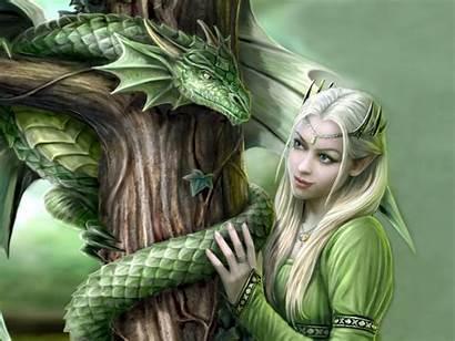 Dragon Fantasy Princess Desktop Digital Wallpapers Woman