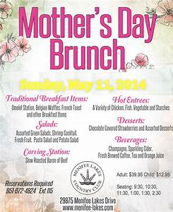 Enjoy Mother's Day Brunch at Menifee Lakes Country Club ...