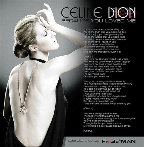 Celine Dion Because You Loved Me Mp3 Download Waptrick — TTCT