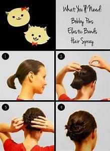 Tuto Coiffure Cheveux Court : tutoriel coiffure cheveux courts coiffure simple et facile ~ Melissatoandfro.com Idées de Décoration