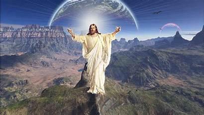Jesus Wallpapers Christ Screensavers Desktop 3d 1366