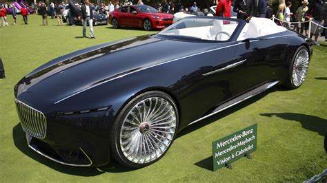 Maybach Car : 2017 Mercedes-maybach Vision 6 Cabriolet