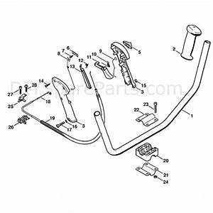 Stihl Fs 250 Brushcutter  Fs250  Parts Diagram  Bike