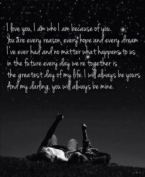Will You Always Be Mine Quotes