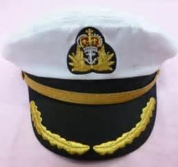 Navy Sailor Captain Hat