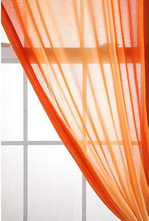 Make Your Own Living Room Curtains by Ombre Sunset Curtain For The Home Orange Curtains