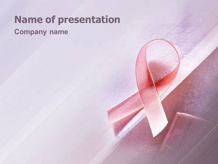 Breast Cancer Powerpoint Template For Mac