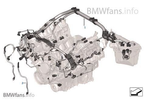 engine wiring harness engine module bmw x6 e71 x6 50ix n63 europe