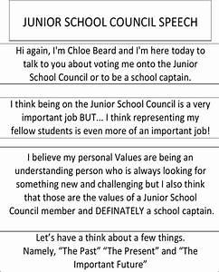 school captain speech quotes