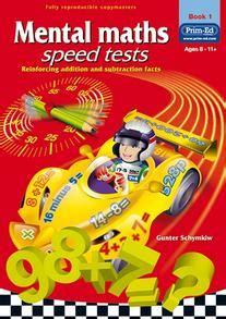 mental maths speed tests book  mathematics year