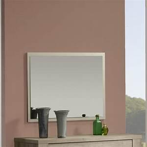 Miroir Rectangulaire Mural : miroir mural contemporain charlotte zd1 mir c ~ Teatrodelosmanantiales.com Idées de Décoration