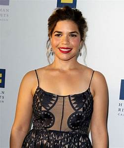 AMERICA FERRERA at Human Rights Campaign Gala Dinner in ...