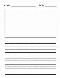 primary letter writing paper printable worksheets