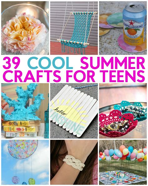 39 Great Teen Summer Crafts  A Little Craft In Your Day