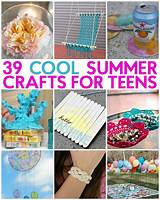 Arts craft idea teen