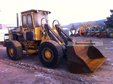 volvo l70 l90 bj 1989 klima 13500bstd 1989 wheeled loader construction equipment and