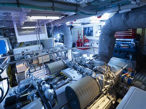Yacht Engine Room by Veuve Yacht Engine Room Luxury Yacht Browser By