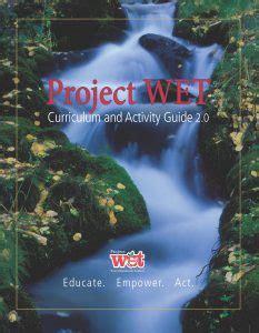 project wet canada professional development workshops