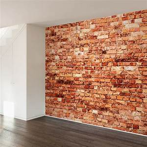 brick exterior wall mural decal contemporary wall decals With brick wall decal