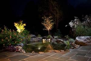 Landscape lighting outdoor contracting