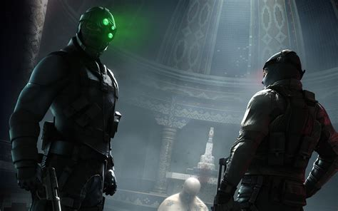 splinter cell conviction game wallpapers hd 1920 1200