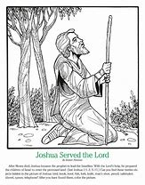 High quality images for coloring page joshua and caleb 1600.ga