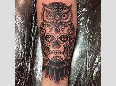 Owl Tattoo Sugar Skull Meaning Tattoo Art