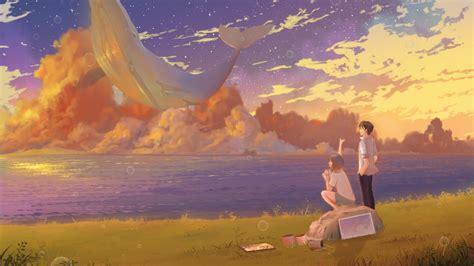 梦幻的动漫场景二次元2K超清电脑桌面壁纸大全_桌面壁纸下载_四季图片