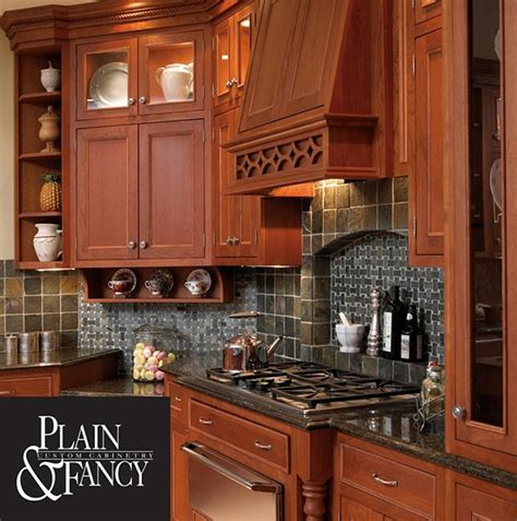 Plain And Fancy Cabinets  B&t Kitchens & Baths