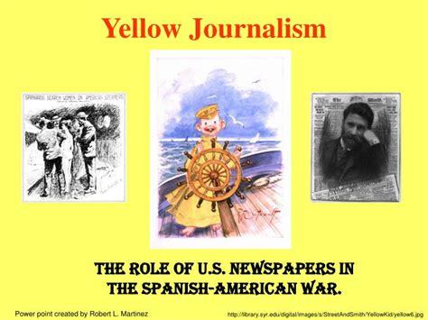yellow journalism powerpoint  id