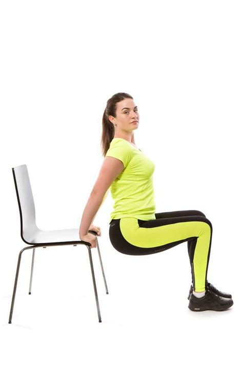 Chair Sit Ups Benefits by 5 Exercises To Do Using The Chair Femina In