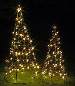 Led Pyramide Aussen : weihnachtskegel weihnachtsbaum aus metall metallbaum pyramide mit led f r au en ebay ~ Eleganceandgraceweddings.com Haus und Dekorationen