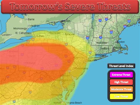 northeast weather action  severe threats forecast