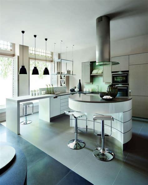 cuisine actuel la cuisine arrondie dans 41 photos pleines d 39 idées