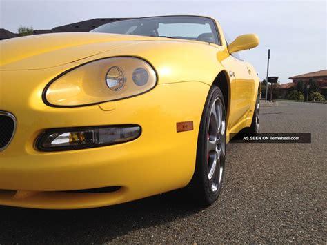 maserati cambiocorsa convertible 2004 maserati spyder cambiocorsa convertible 2 door 4 2l