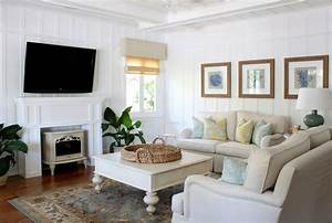 beach cottage - Traditional - Living Room - orange county