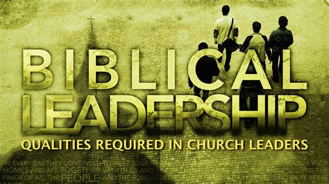 negotiable qualities  church leaders titus