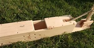 Home built mini hay bale press - by Von @ LumberJocks com