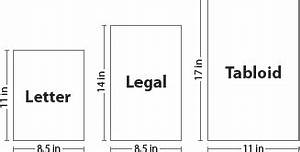 paper sizes and formats the difference between a4 and letter With letter size legal size