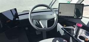 Tesla Semi cabin's Model 3-inspired elements showcased in new video