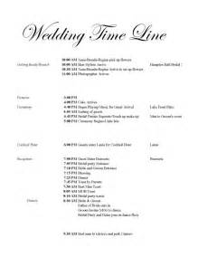wedding reception itinerary best photos of wedding ceremony timeline template