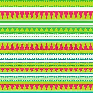 Seamless vector tribal texture Tribal vector pattern